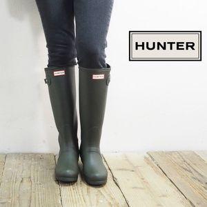 Women's Original Tall Rain Boots: Dark Olive